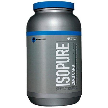Isopure Zero Carb 3lbs - Nature´s Best