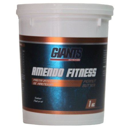 Pasta de Amendoim Amendo Fitness 1kg - Giants Nutrition