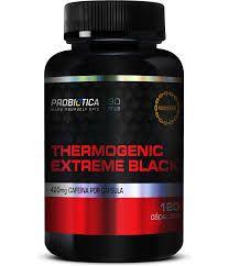 Thermogenic Extreme Black com 120 Cápsulas Probiótica