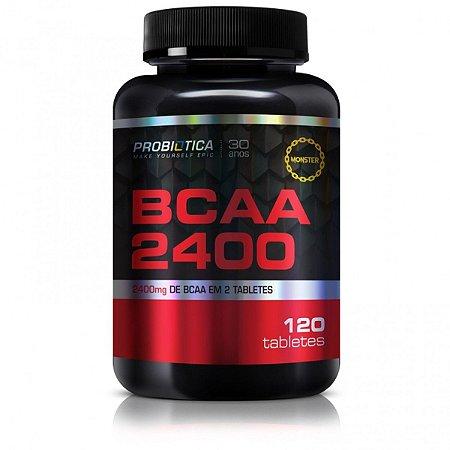 BCAA 2400 Com 120 Tabletes - Probiótica