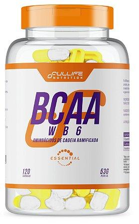 BCAA WB6 com 120 Cápsulas Fullife Nutrition