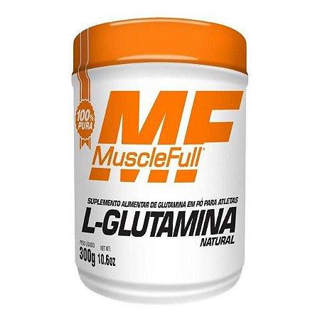 L- Glutamina Natural 300g - MuscleFull