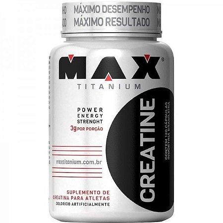 Creatine c/120 Cápsulas - Max Titanium