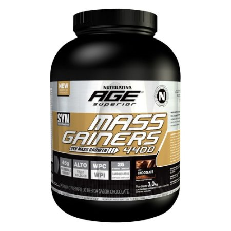 Mass Gainers 4400 3kg - Nutrilatina Age