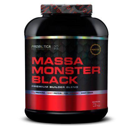 Massa Monster Black 3kg - Probiótica
