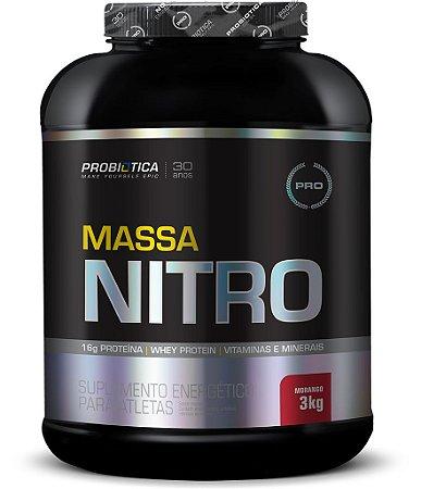 Massa Nitro NO2 3kg - Probiótica