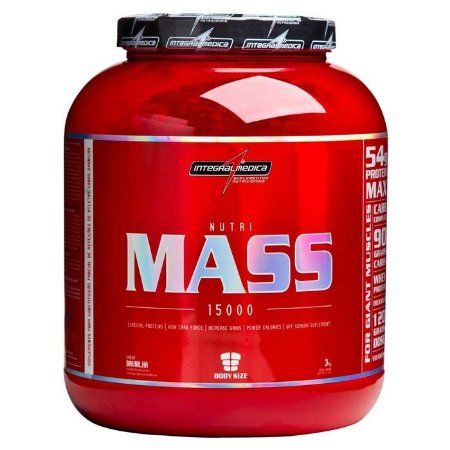 Nutri Mass 15000 3kg – Integralmédica