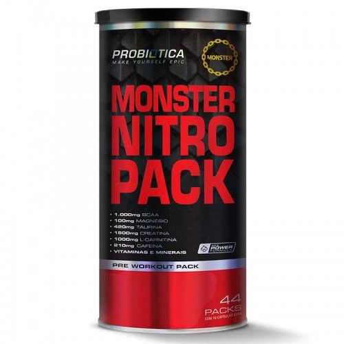 Monster Nitro Pack NO2 c/44 Packs - Probiótica