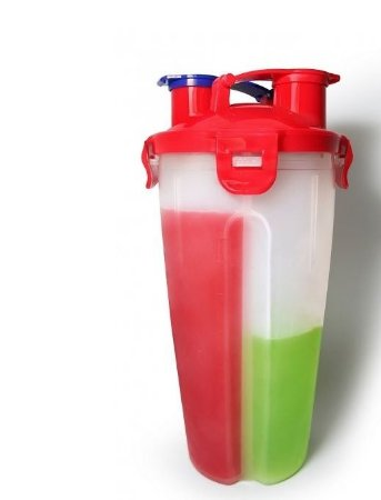 Coqueteleira Dual Cup 800 ml - Fit Shaker