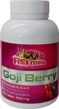 Goji berry 400mg c/60 Cápsulas – Rei Terra