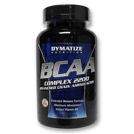 BCAA Complex 2200 c/200 Cápsulas – Dymatize Nutrition