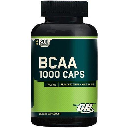 BCAA 1000mg c/200 Cápsulas - Optimum Nutrition