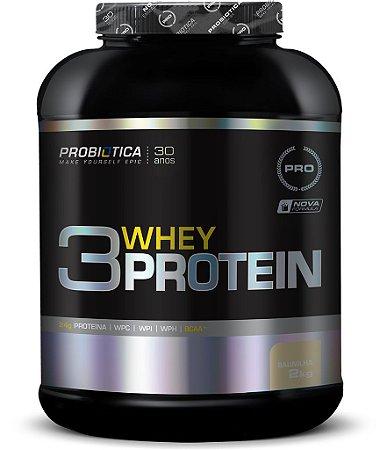 3 Whey Protein 2kg - Probiótica VENC 02/19