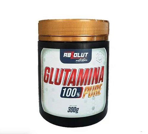 Glutamina 100% Pure 300g Absolut Nutrition