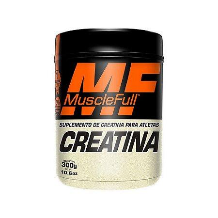Creatina 300g Monohidratada - Muscle Full - Massa Muscular
