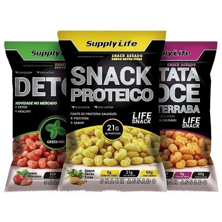 Snack 60g - Supply Life