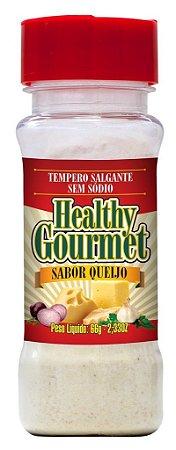 Tempero Salgante sem Sódio 66g Queijo - Healthy Gourmet