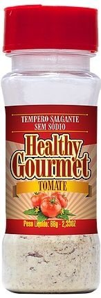 Tempero Salgante sem Sódio 66g Tomate - Healthy Gourmet