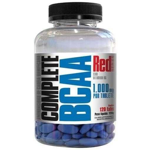 Complete BCAA 1000mg C/120 Tabletes - Red Series