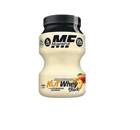 Kutwhey Black 900g Muscle Full - Sabor Leite Fermentado com Frutas/Promoção