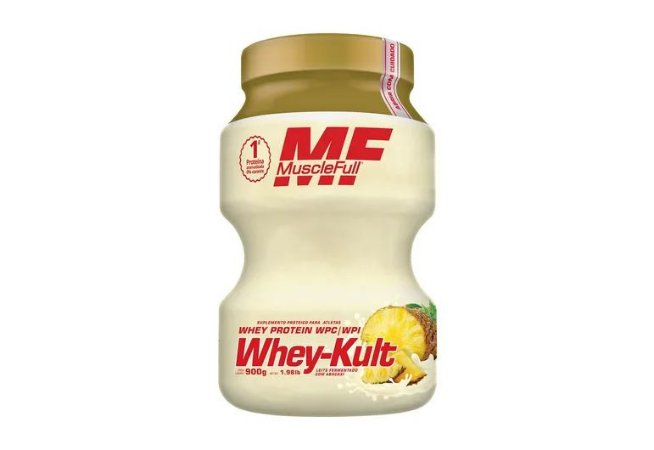 Kutwhey 900g Muscle Full - Leite Fermentado com Abacaxi