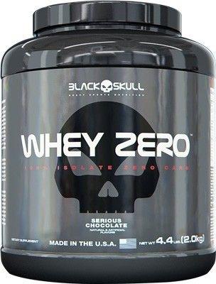 Whey Zero 2,2kg - Black Skull