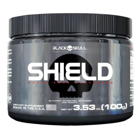 Shield Glutamina 100g - Black Skull