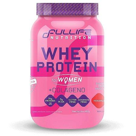 Whey Protein For Women + Colágeno 907g - Fullife Nutrition