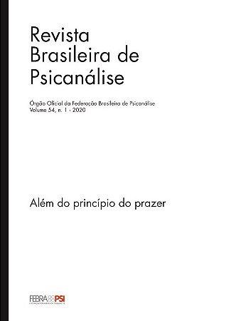 v. 54 nº 1 -  Além do princípio do prazer