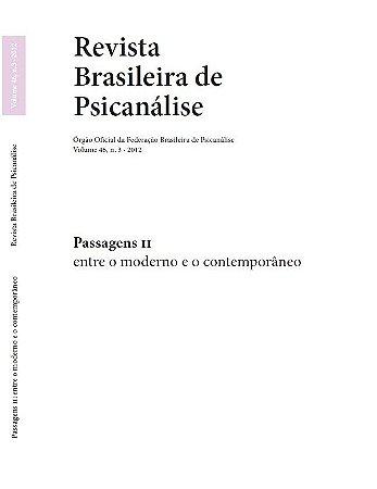 v.46 nº3 - Passagens II - entre o moderno e o contemporâneo