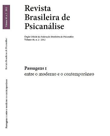 v.46 nº2 - Passagens I - entre o moderno e o contemporâneo