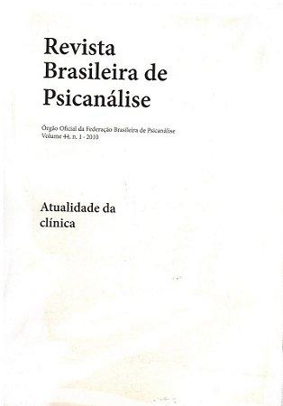 v.44 nº1 - Atualidade da clínica
