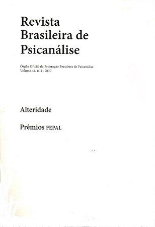 v.44 nº4 - Alteridade: Prêmios FEPAL