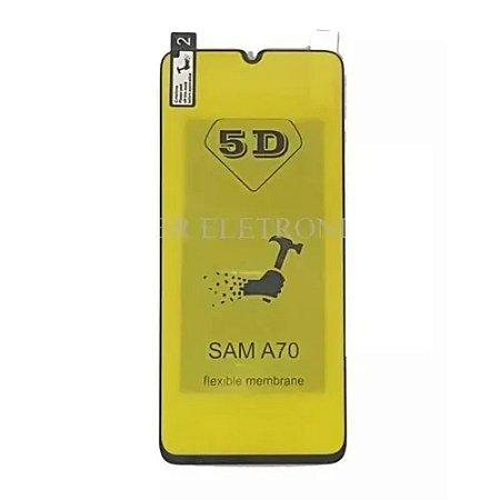Película de Gel Flexível 5D Galaxy A70