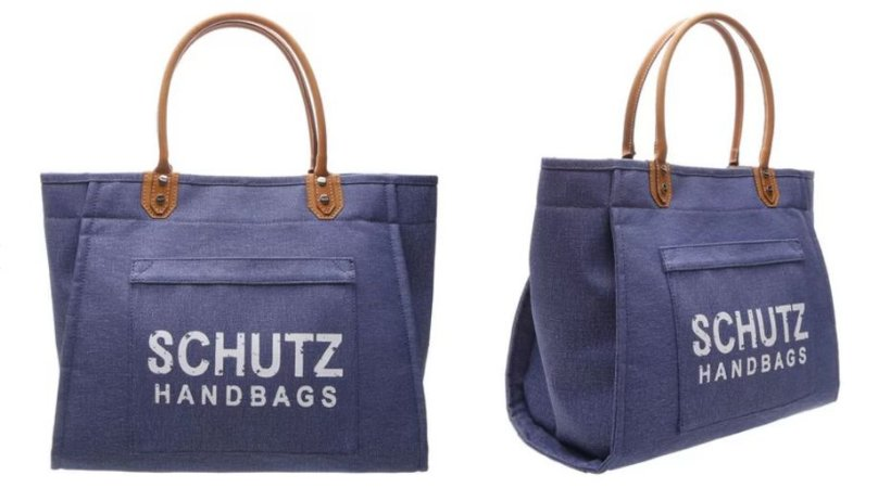 MAXI TOTE DRESS BLUE - Schutz