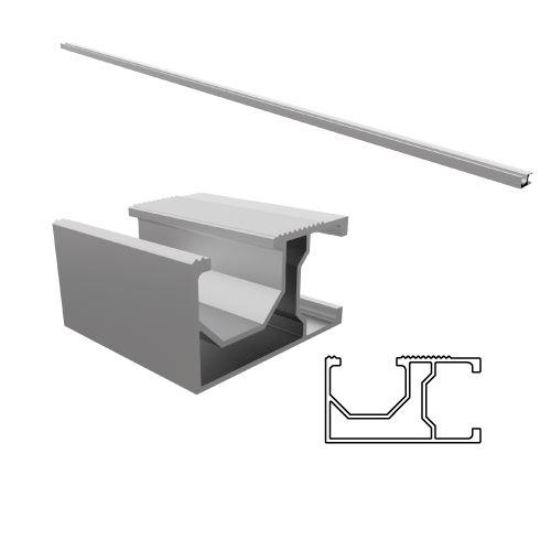 Perfil Alumínio SSM H2 - 4,40m