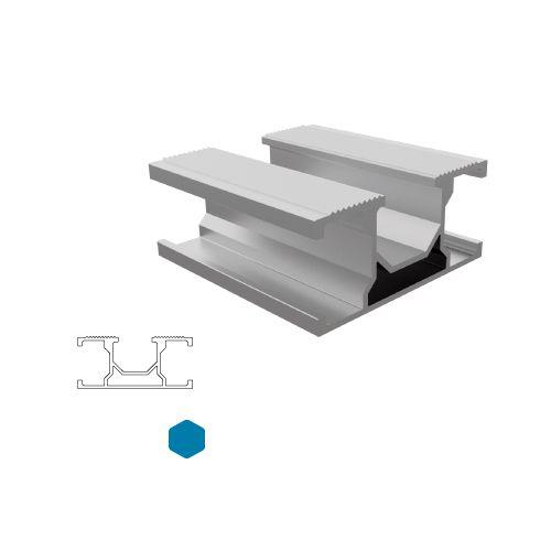 Perfil Alumínio SSM H3 - 4,40m