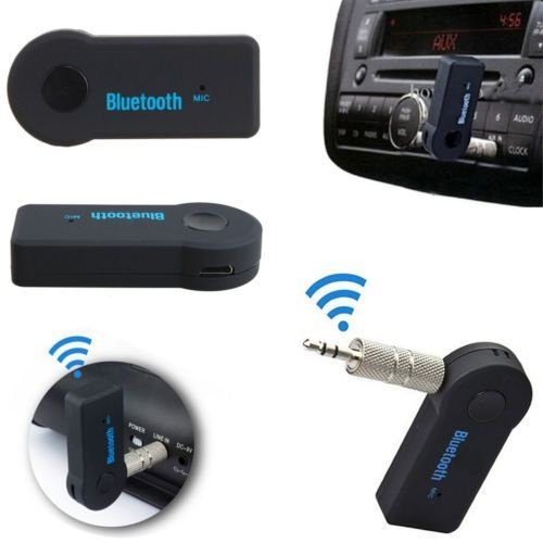 Adaptador Conversor Bluetooth Para Carro P2
