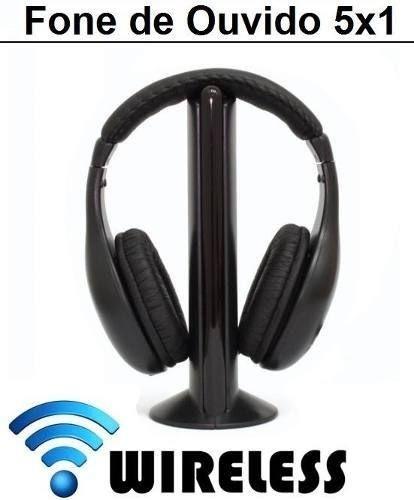 Fone 5 em 1 Wireless PC Notebook Sem Fio