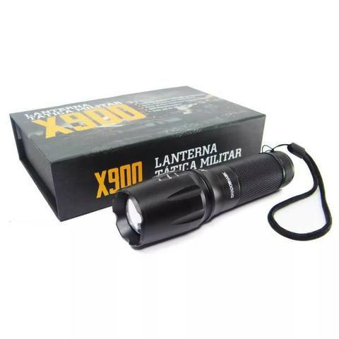 Lanterna do FBI X900 Recarregavel + Potente do Mercado