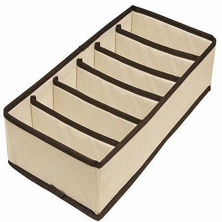 Organizador de Sutiãs e Lingerie – 6 Compartimentos