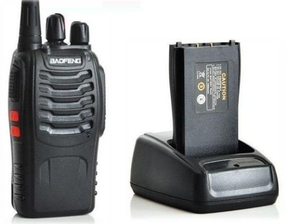 Walkie Talkie Radio Comunicador Baofeng