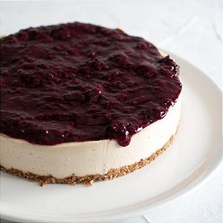 Cheesecake de Frutas Vermelhas Zero Açúcar (1,4kg)