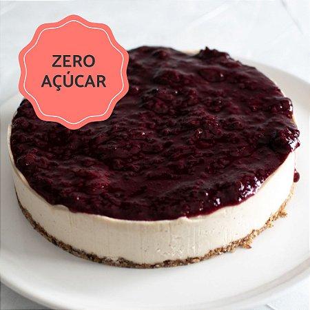 Cheesecake de Frutas Vermelhas Zero Açúcar (1,4kg) ⭐⭐⭐⭐⭐