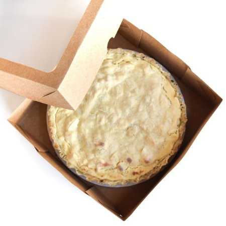 """Quiche de Palmito com """"Cream Cheese"""" M (630g)"""