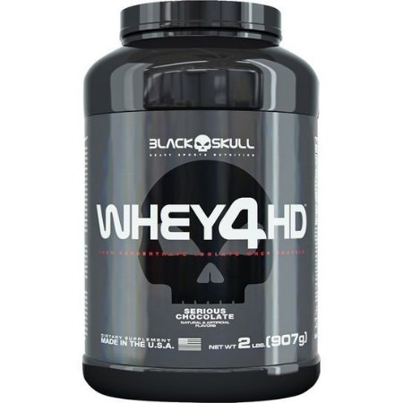 Whey 4HD 907g – Black Skull