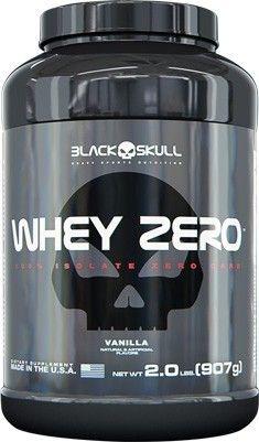 Whey Zero 907g – Black Skull