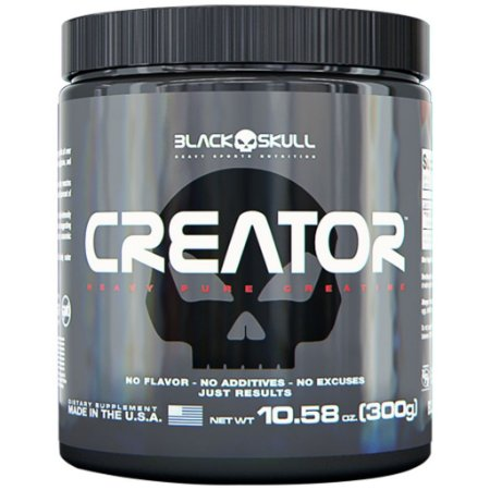 Creatina Creator 300g - Black Skull