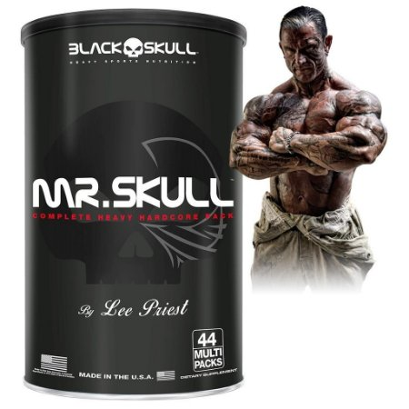 Mr. Skull - 44 Multi Packs - Black Skull