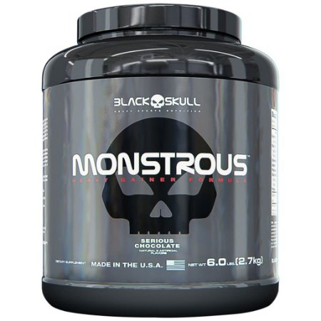 Massa Monstrous - 2,7kg - Black Skull